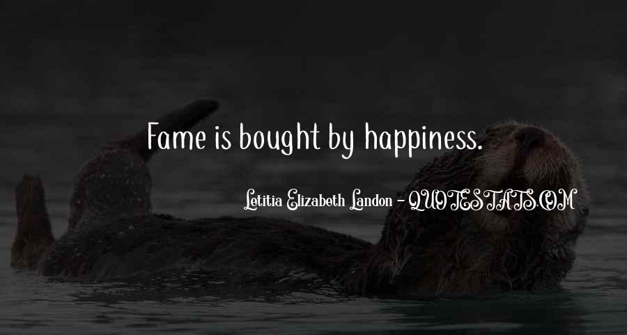 Letitia Elizabeth Landon Quotes #240280