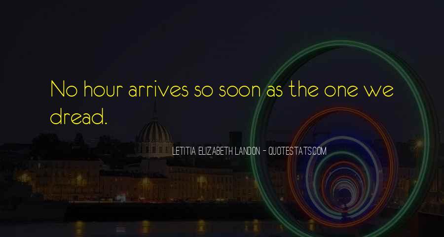 Letitia Elizabeth Landon Quotes #252135