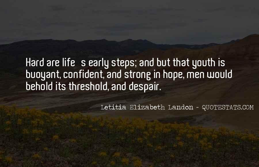 Letitia Elizabeth Landon Quotes #34494
