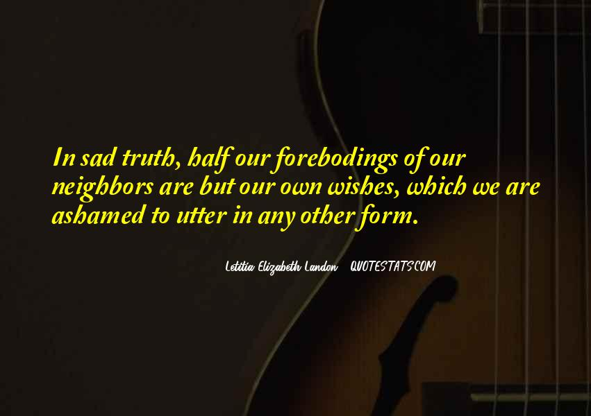 Letitia Elizabeth Landon Quotes #371577