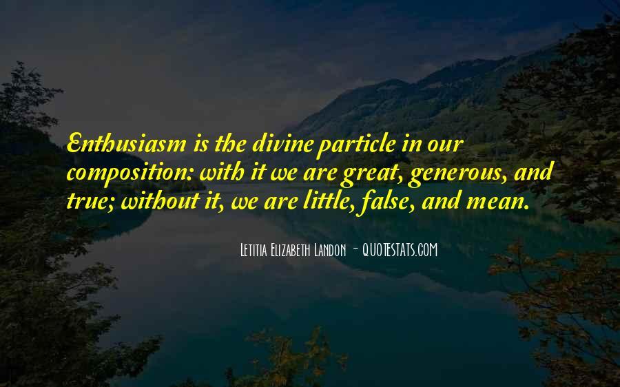 Letitia Elizabeth Landon Quotes #383721