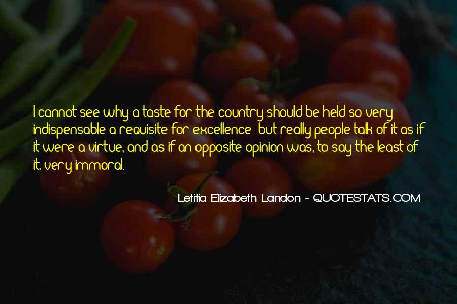Letitia Elizabeth Landon Quotes #526527