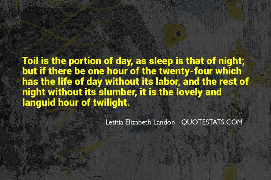 Letitia Elizabeth Landon Quotes #670669
