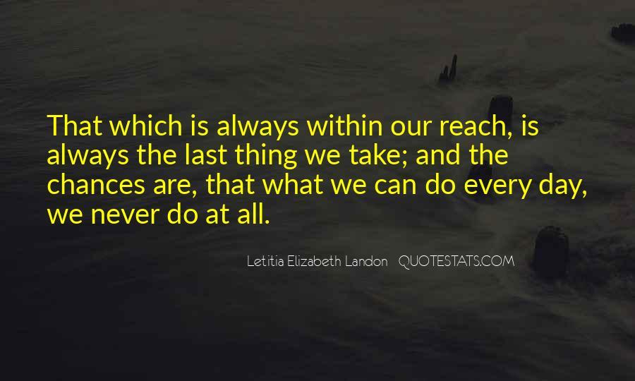 Letitia Elizabeth Landon Quotes #678009