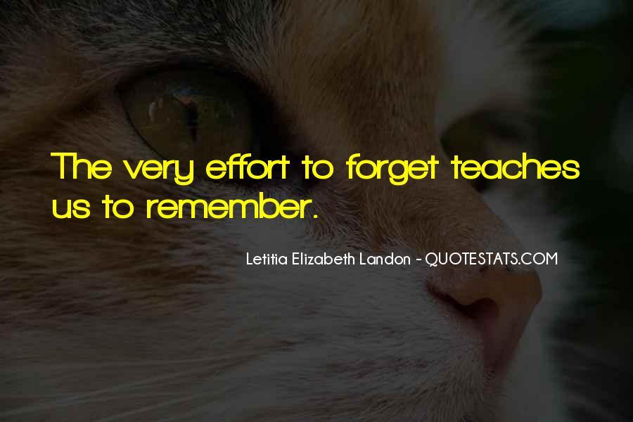 Letitia Elizabeth Landon Quotes #707113