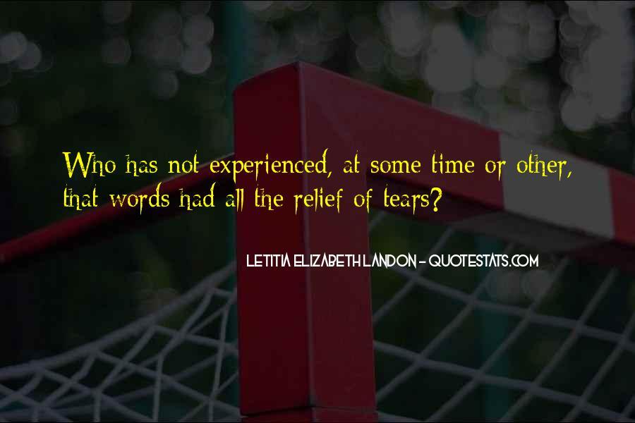 Letitia Elizabeth Landon Quotes #759867