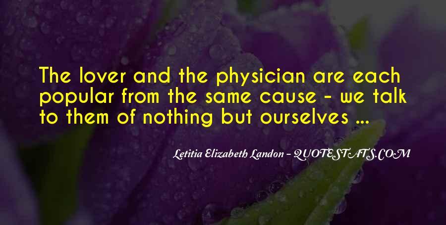Letitia Elizabeth Landon Quotes #777583