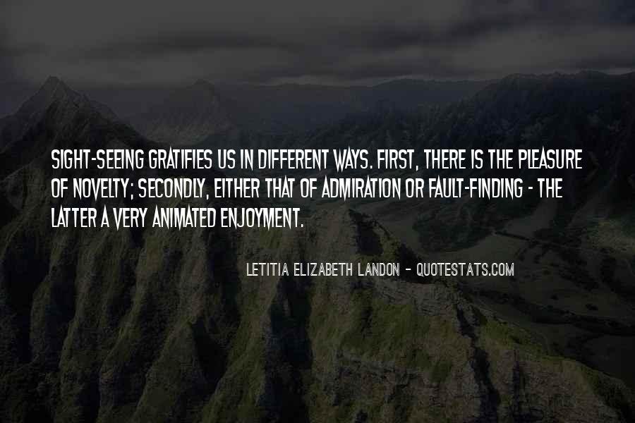 Letitia Elizabeth Landon Quotes #871552