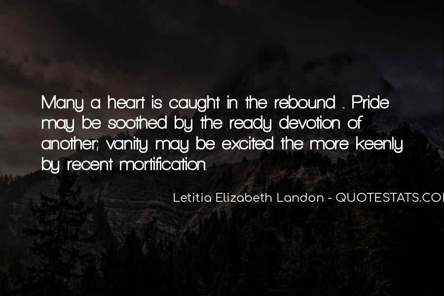 Letitia Elizabeth Landon Quotes #899956