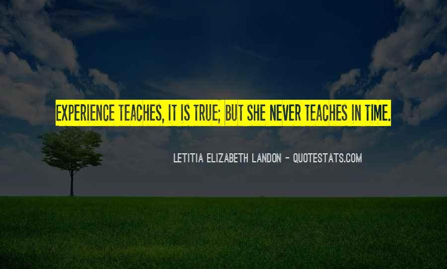 Letitia Elizabeth Landon Quotes #948817