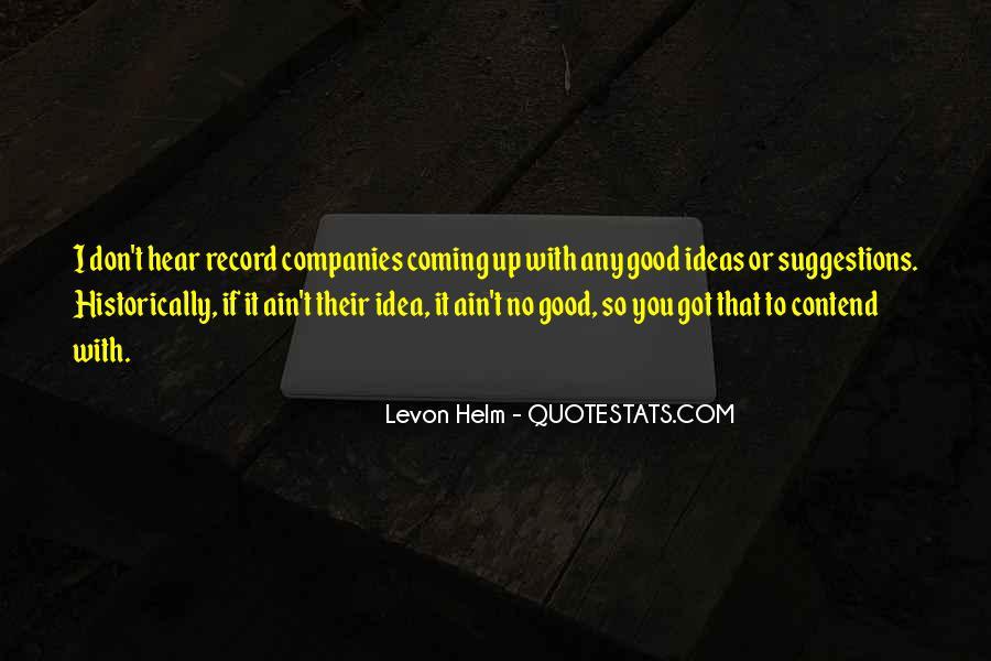 Levon Helm Quotes #1272091