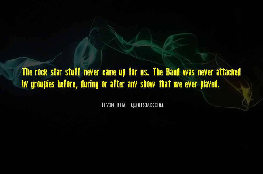 Levon Helm Quotes #167487