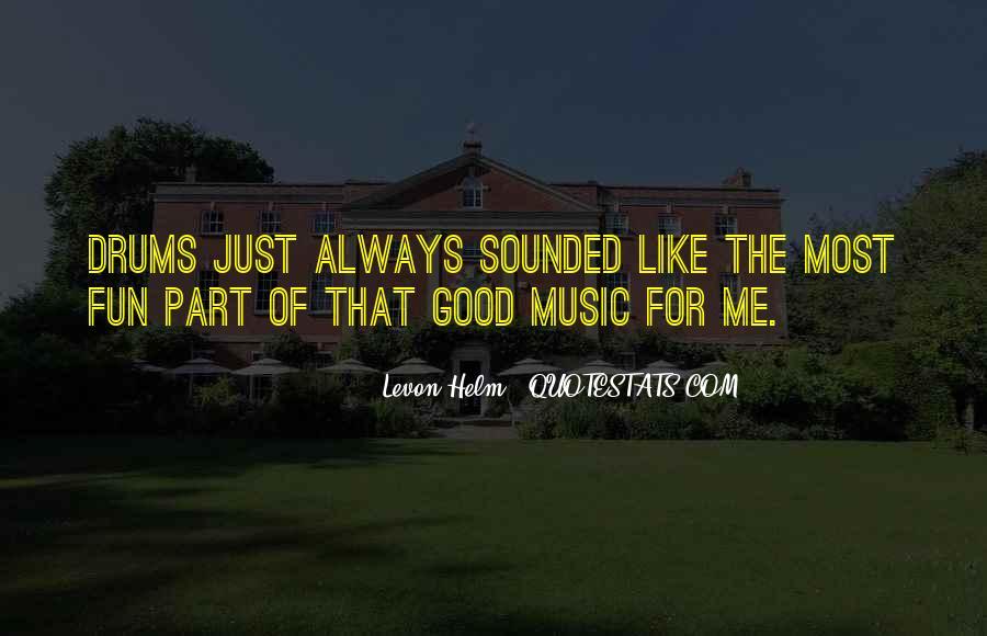 Levon Helm Quotes #1844281