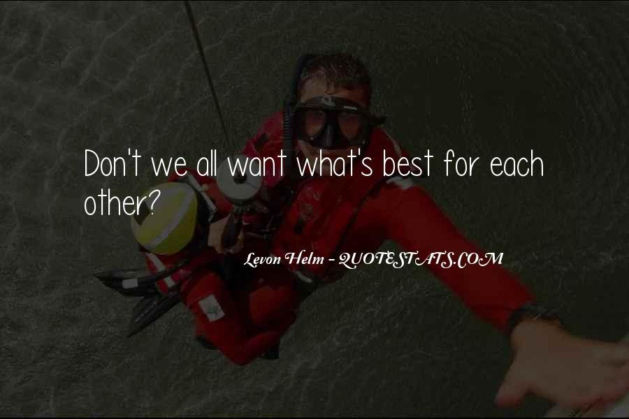 Levon Helm Quotes #307466