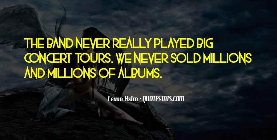 Levon Helm Quotes #433755