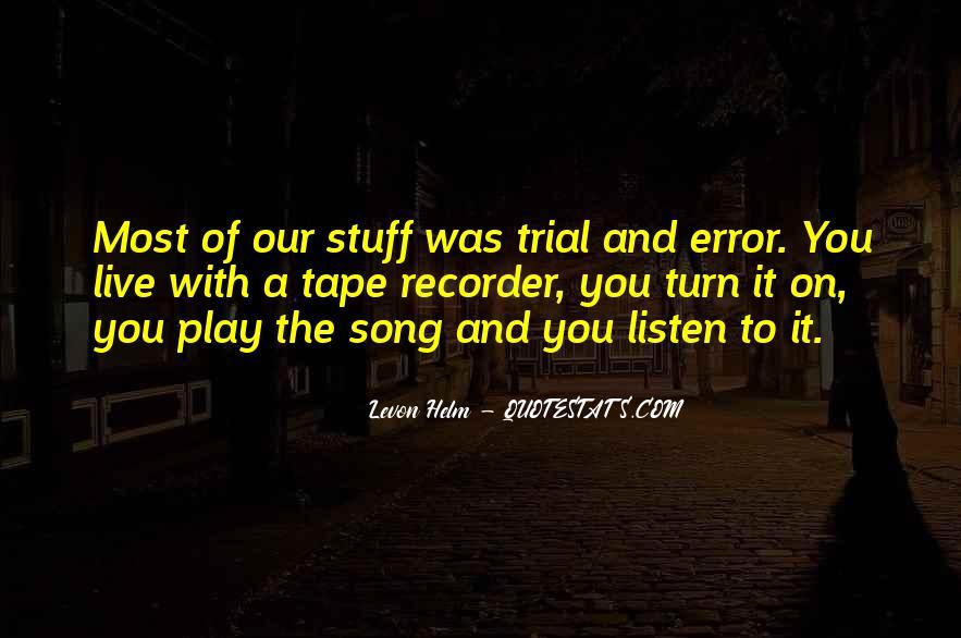 Levon Helm Quotes #607935