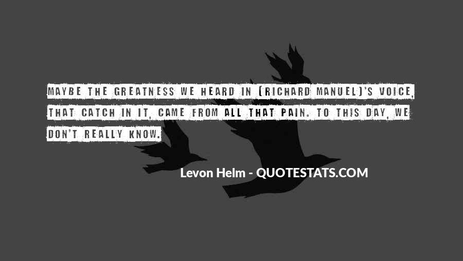 Levon Helm Quotes #777358