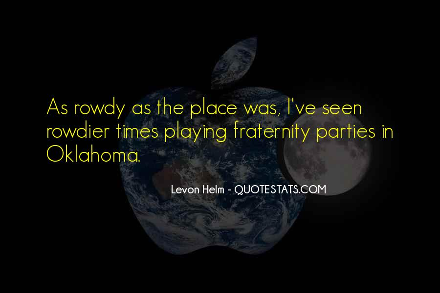 Levon Helm Quotes #924061