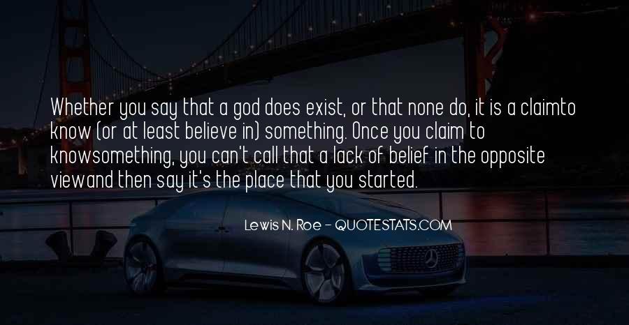 Lewis N. Roe Quotes #1118177