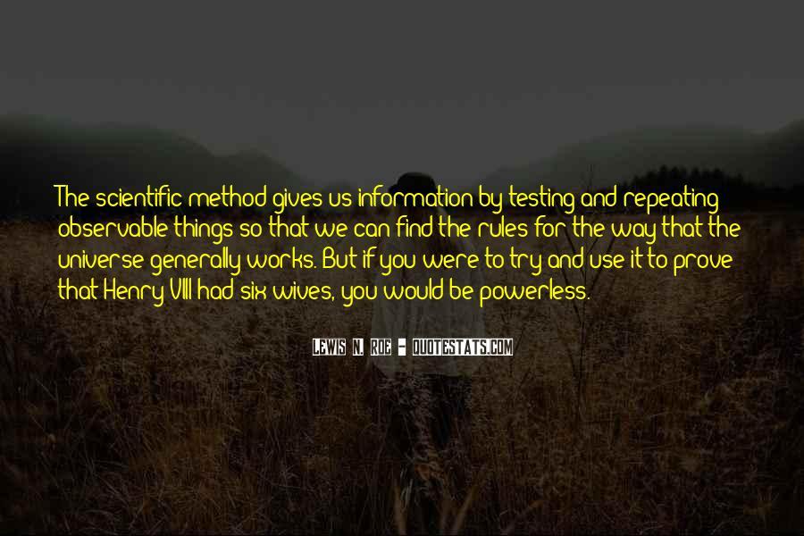 Lewis N. Roe Quotes #1282836