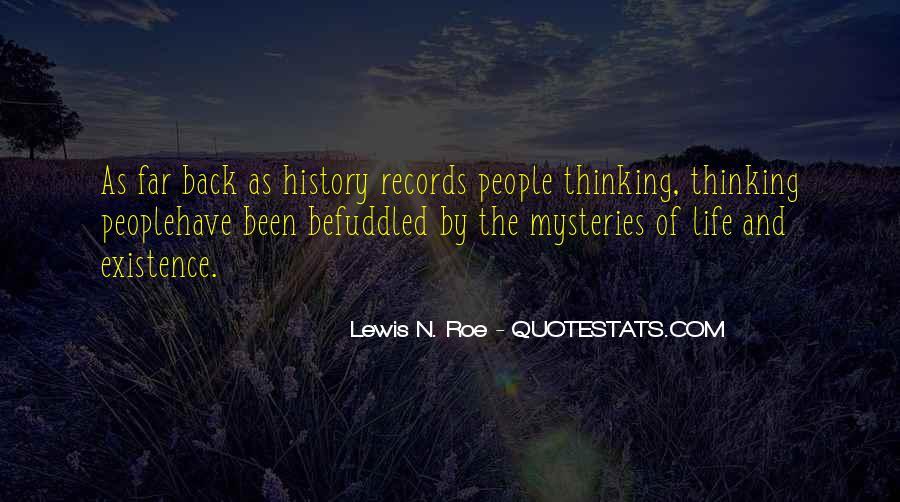 Lewis N. Roe Quotes #187666