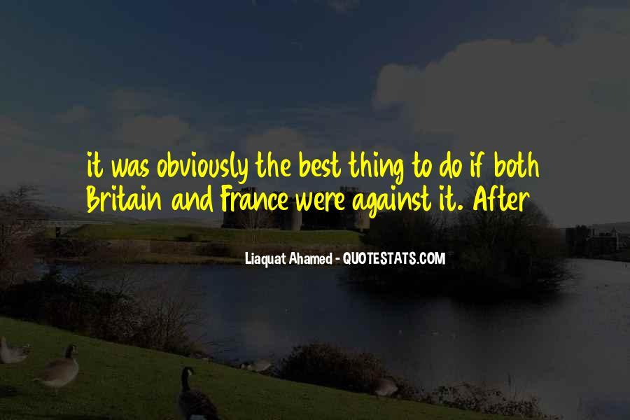 Liaquat Ahamed Quotes #880285