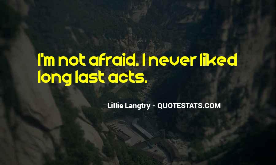 Lillie Langtry Quotes #1663969