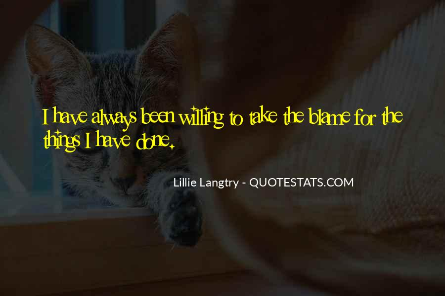 Lillie Langtry Quotes #851691