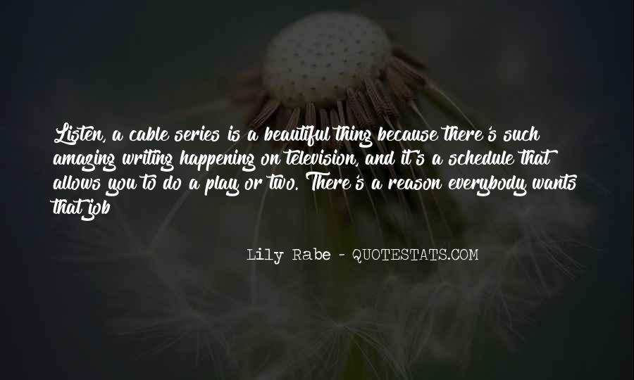 Lily Rabe Quotes #1247354