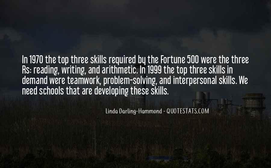 Linda Darling-Hammond Quotes #1549604