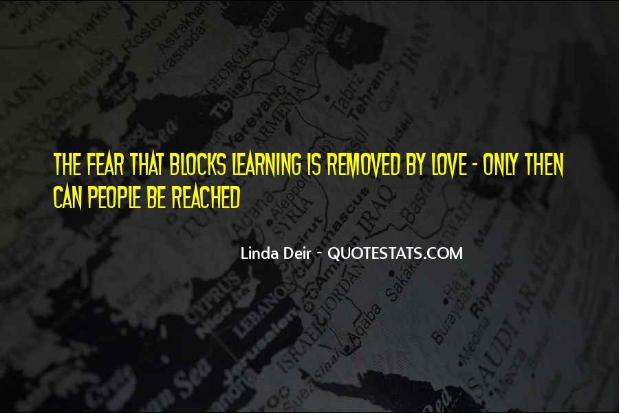 Linda Deir Quotes #1519645