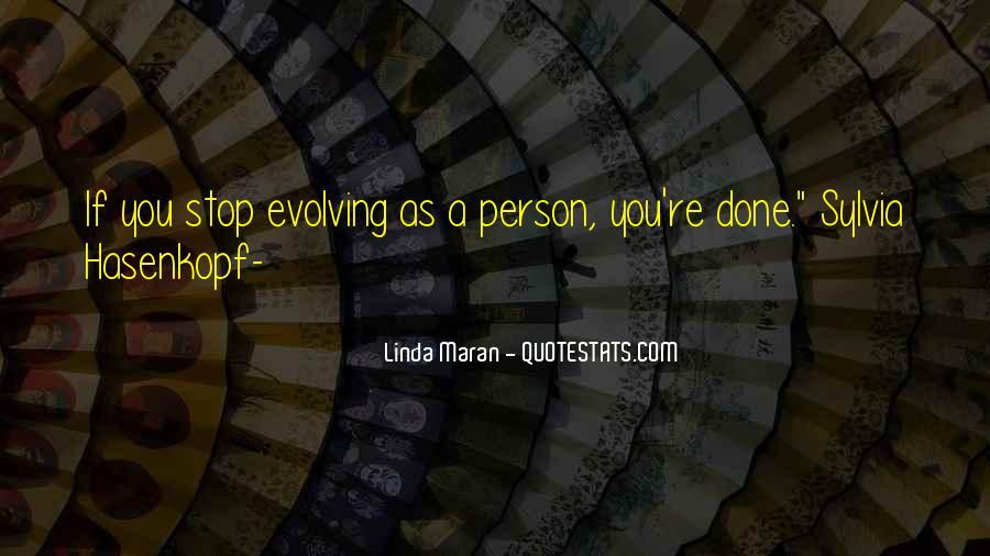 Linda Maran Quotes #1446480