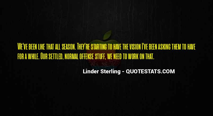 Linder Sterling Quotes #1512892