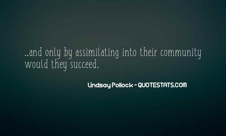 Lindsay Pollock Quotes #1770144