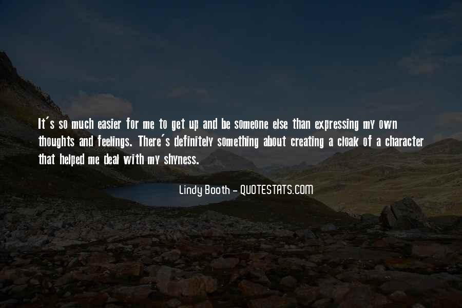 Lindy Booth Quotes #385818