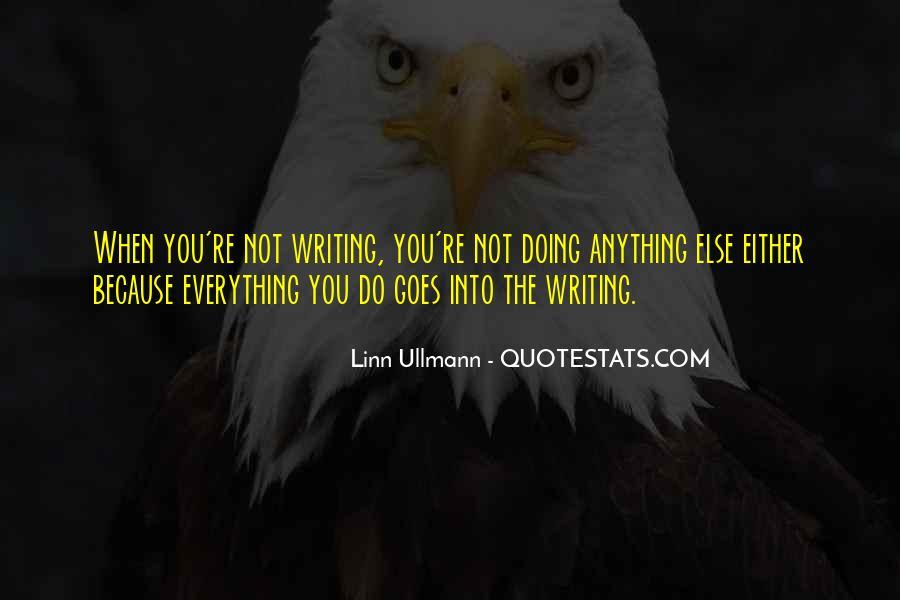Linn Ullmann Quotes #1209543