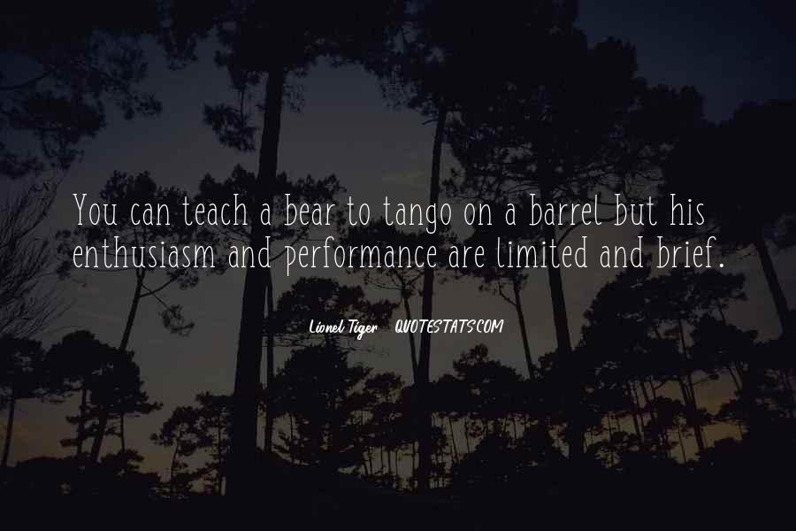 Lionel Tiger Quotes #17027