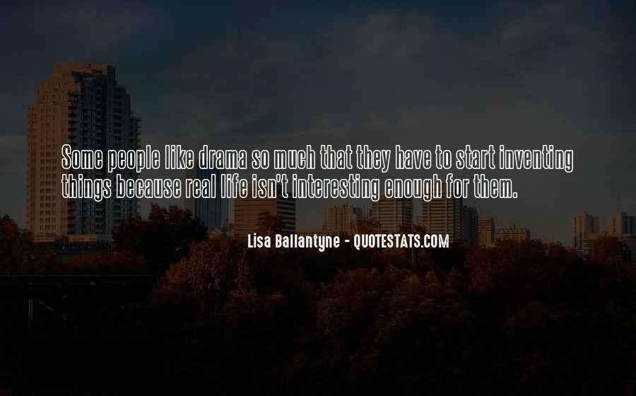 Lisa Ballantyne Quotes #1747147