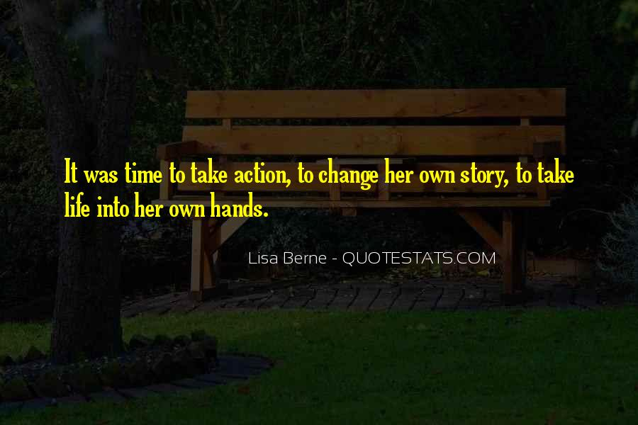 Lisa Berne Quotes #573802