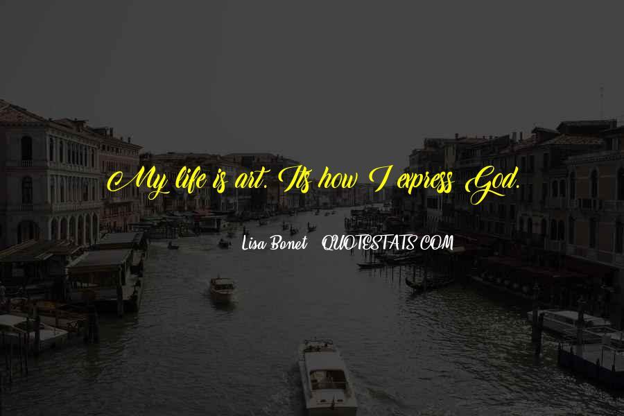 Lisa Bonet Quotes #1788094