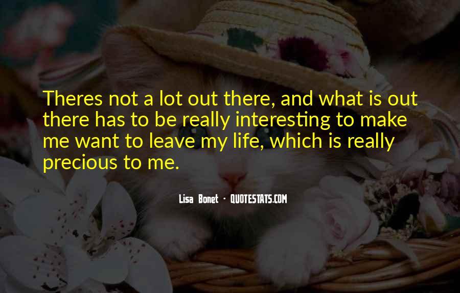 Lisa Bonet Quotes #206724