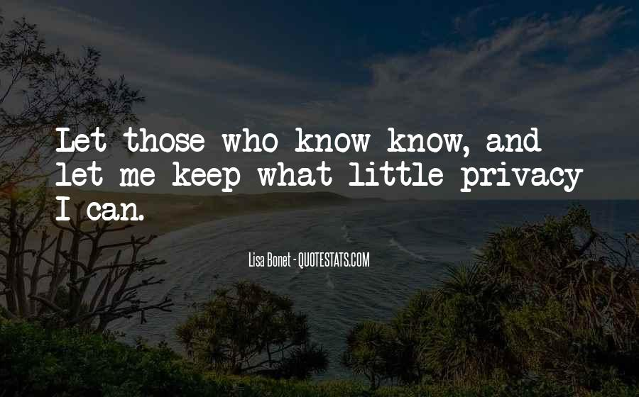 Lisa Bonet Quotes #821101