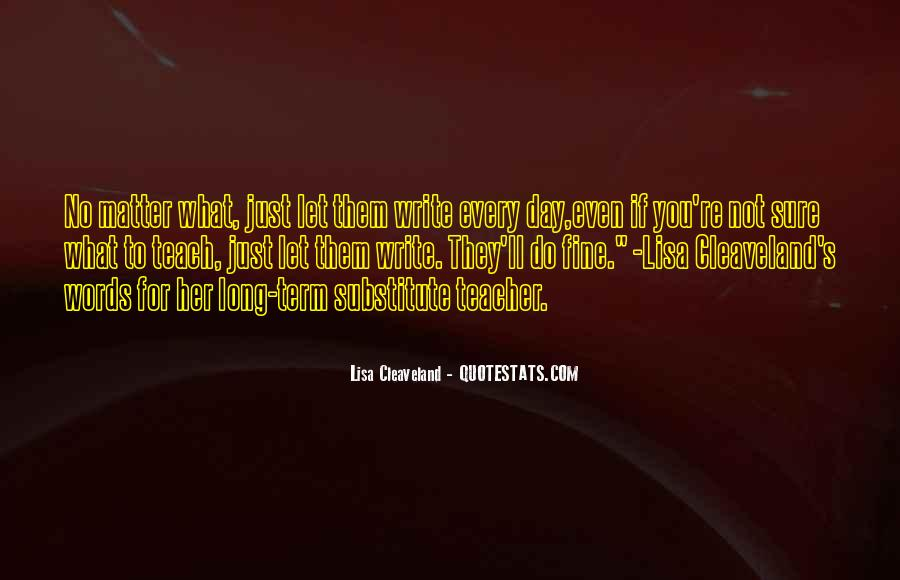 Lisa Cleaveland Quotes #1861737