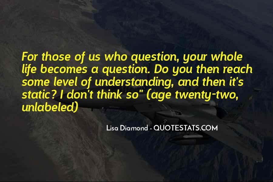 Lisa Diamond Quotes #156363
