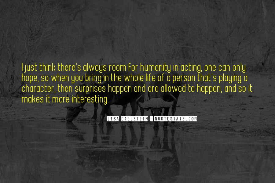 Lisa Edelstein Quotes #1347658