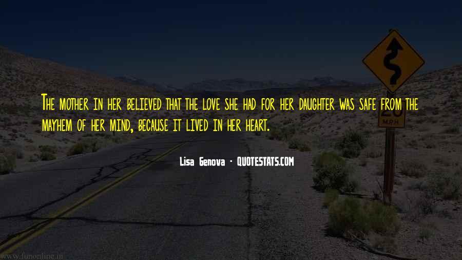 Lisa Genova Quotes #1476965