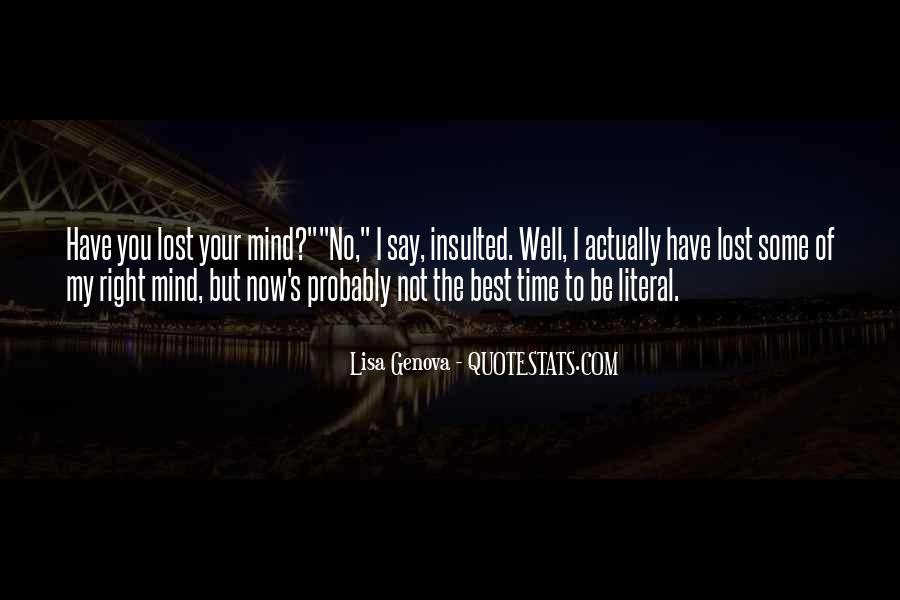 Lisa Genova Quotes #202900
