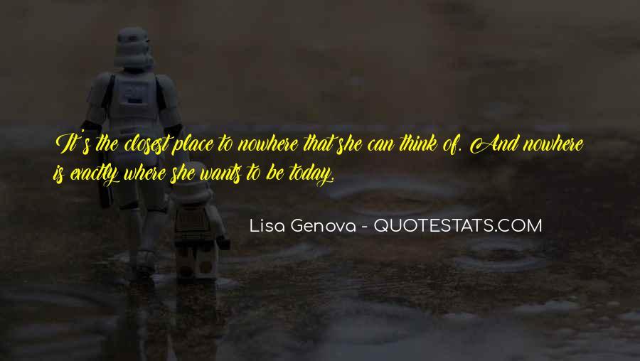 Lisa Genova Quotes #941203