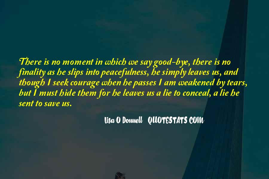 Lisa O'Donnell Quotes #1337148