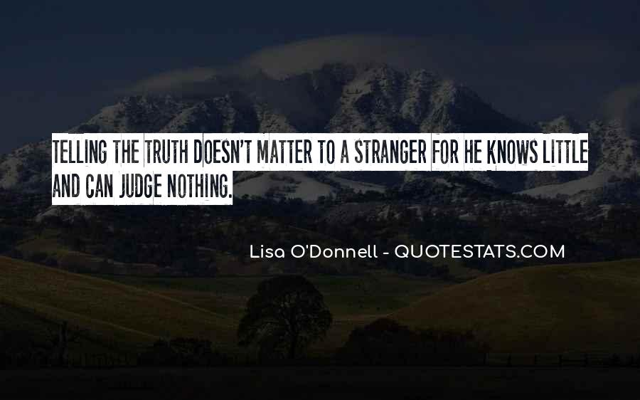 Lisa O'Donnell Quotes #1816975